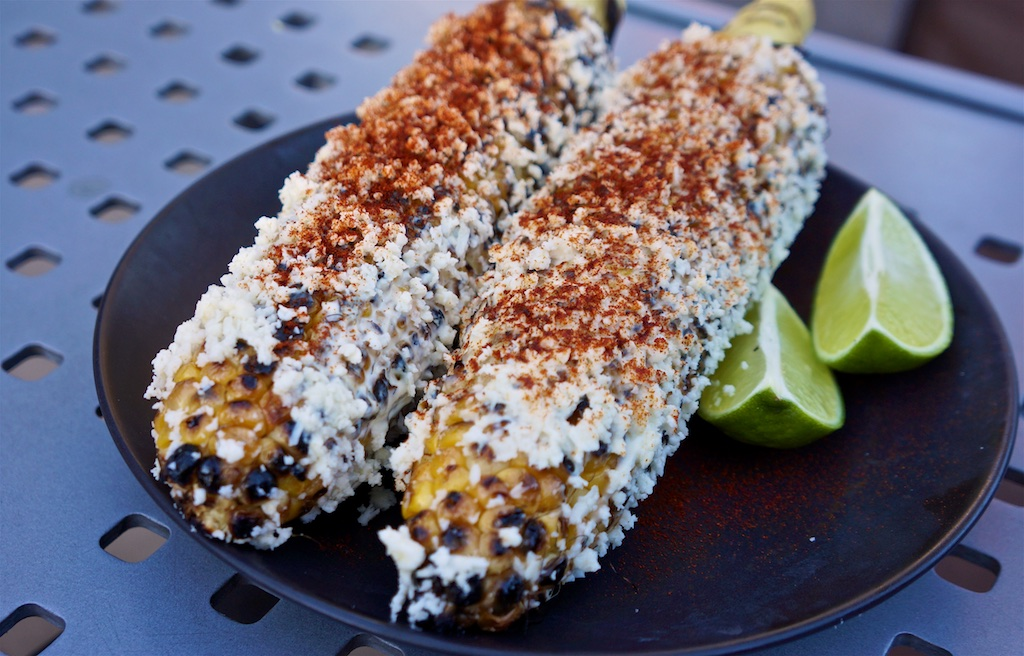 The semiSerious Foodies cook Elote