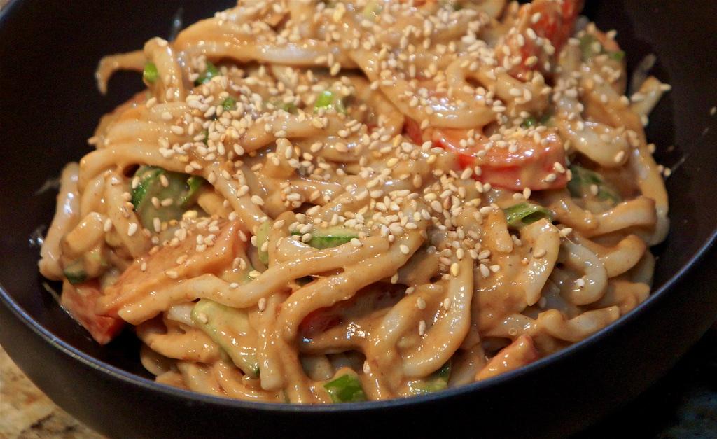 Feb 15: Sushi; Asian Peanut Noodles