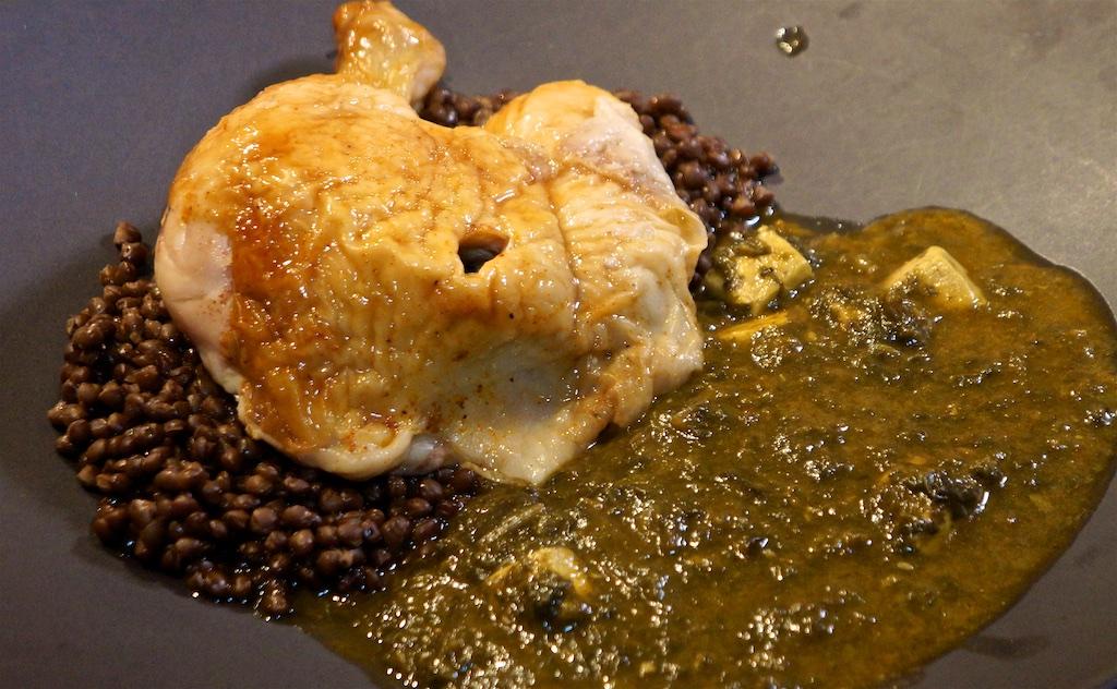 Feb 17: Lemon Chicken Soup; Chicken, lentil and Kashmir spinach