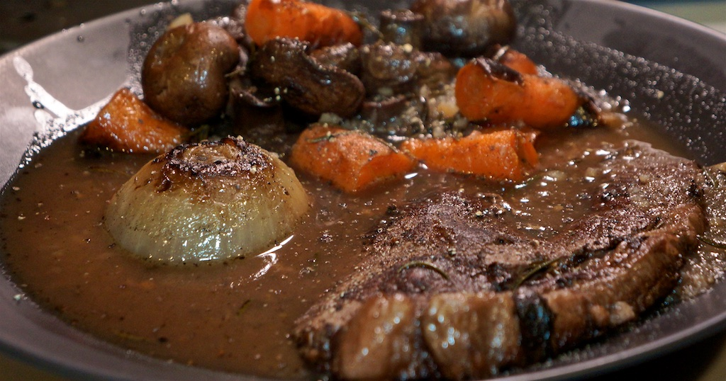 Mar 7: In and Out Burger; Pot roast