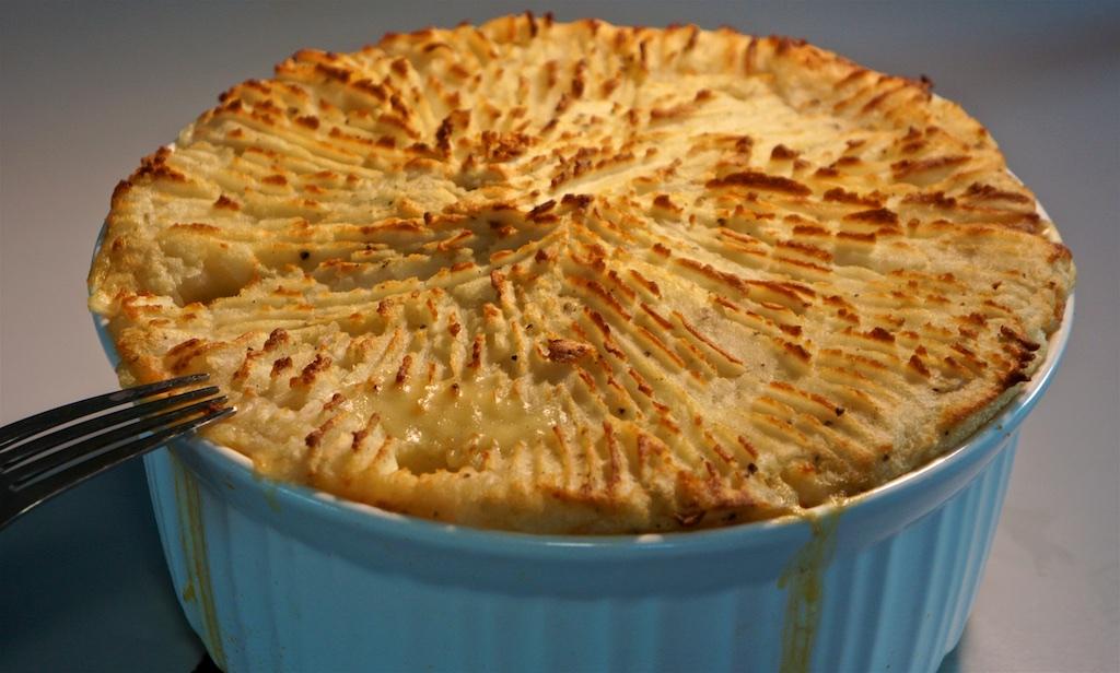 Apr 13: Chicken Wrap; Fish Pie