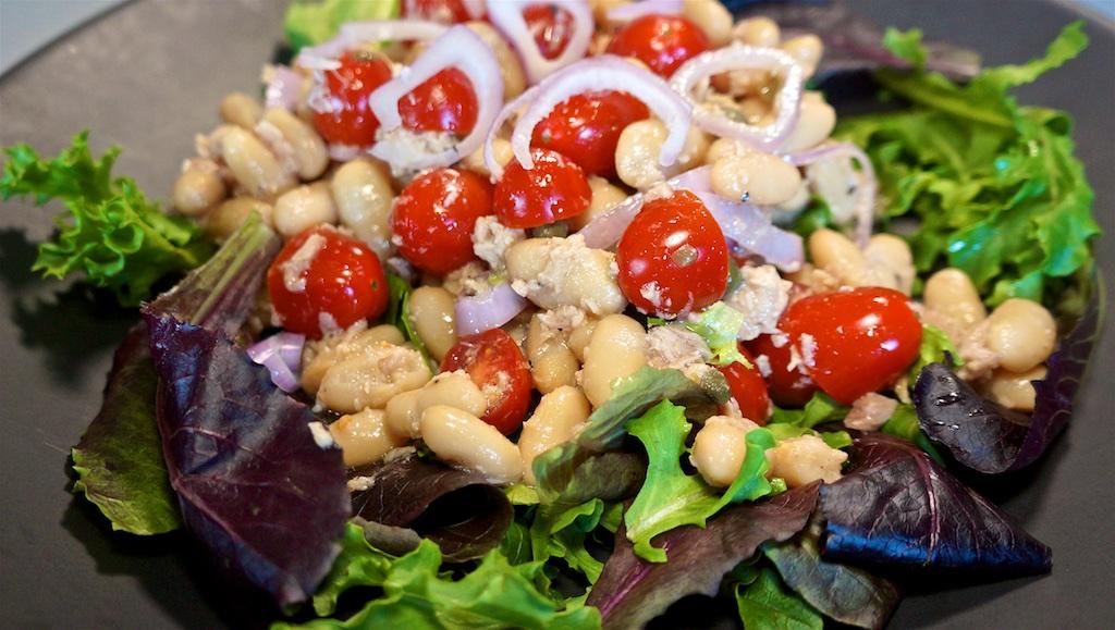 Jun 19: Popeye's Fried Chicken; White Bean Tuna Salad