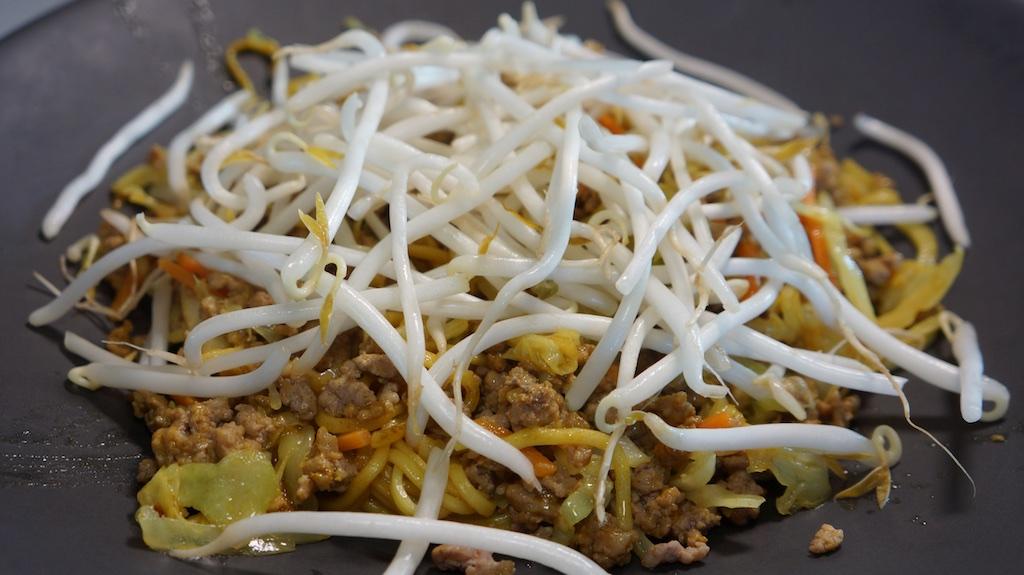 Jul 7: Steak sandwich; Shanghai Noodles with Ground Pork