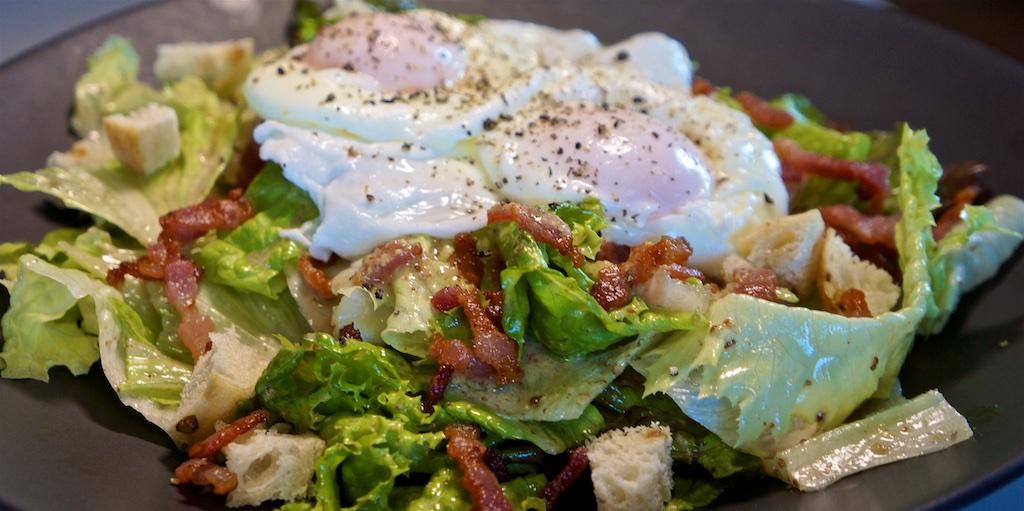 Jul 8: Supermarket Sushi; Salade Lyonnaise