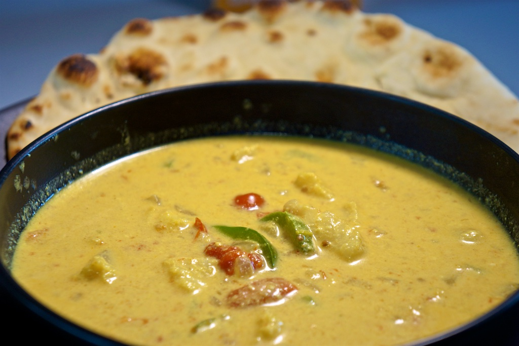Jul 13: Chicken Wrap; Coconut Fish Curry with Naan