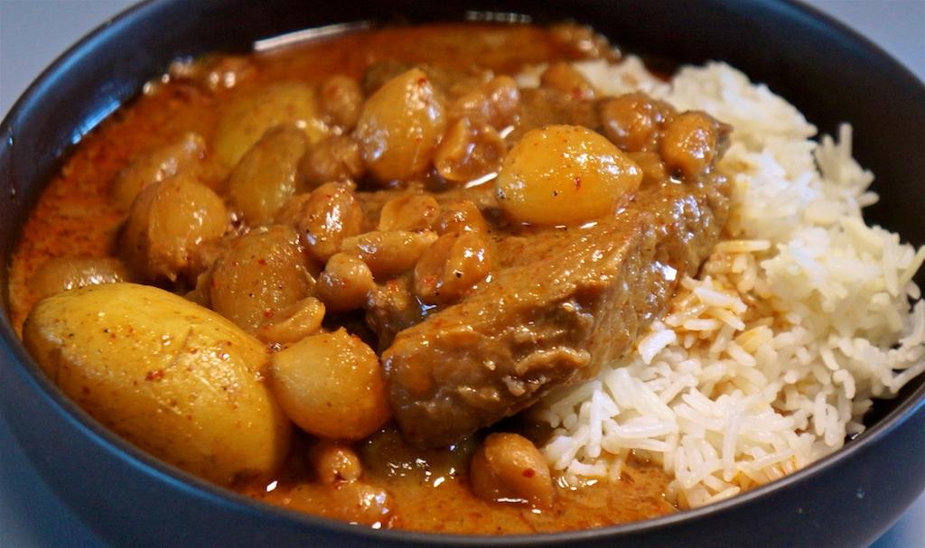 Jul 17: Chicken Wrap; Beef Massaman Curry