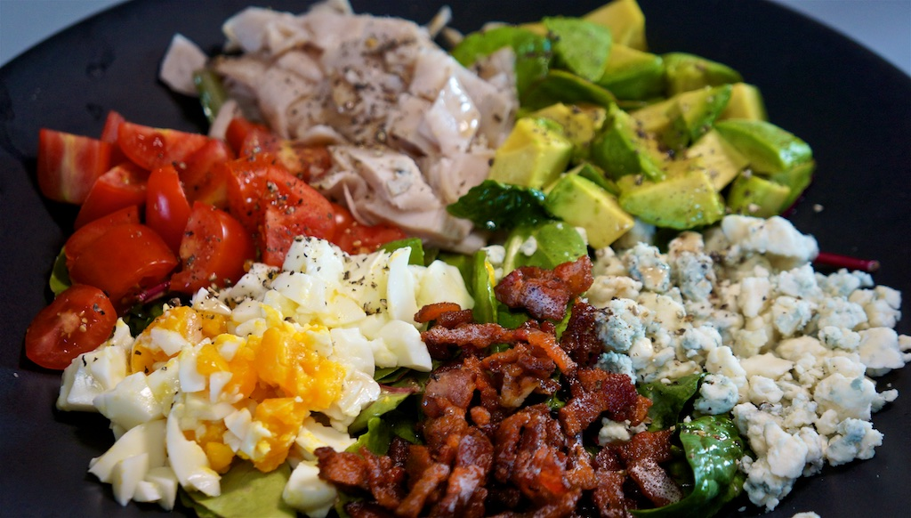 Jul 29: Burrito/Chimichanga; Cobb Salad