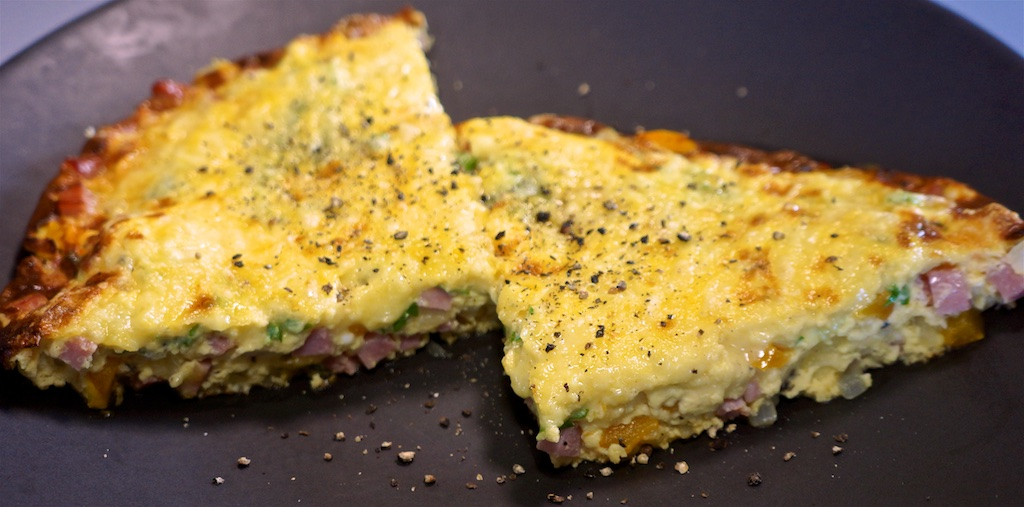 Jul 31:Chicken Wrap; Ham and Cheese Frittata with Bell Pepper and Parsley
