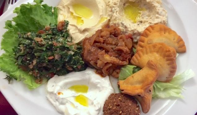 Sep 18: Lebanese Sampler; Pizza