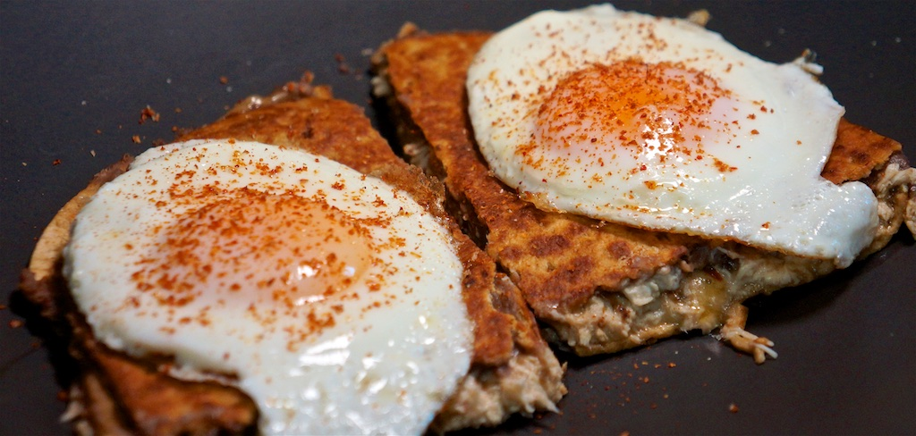 Sep 30: Smoked Salmon Bagel; Chicken Quesadilla with Eggs
