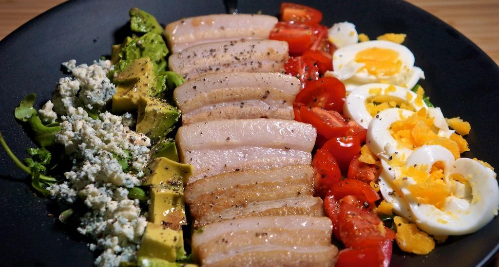 Oct 21: Chicken Wrap; Pork Belly Cob Salad