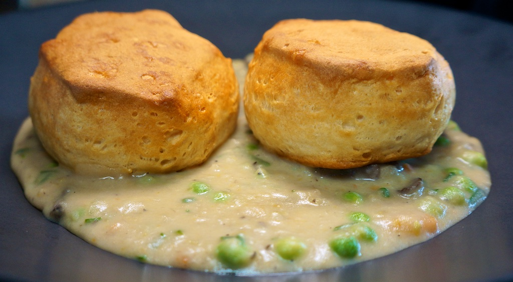 Apr 5: Meatloaf Sandwich; Mushroom Veggie Pot Pie