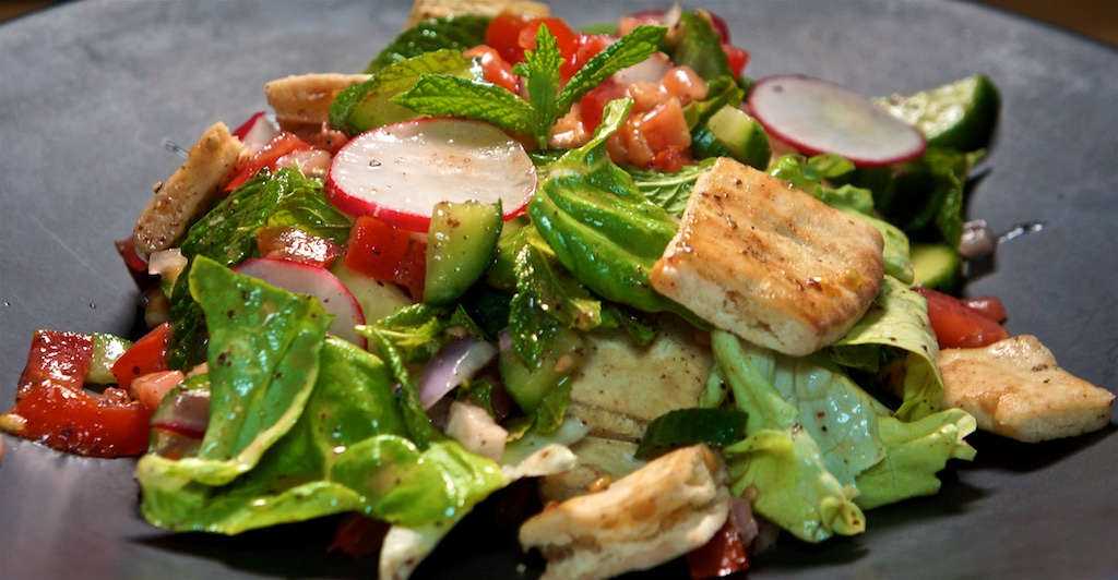 Jun 15: The Country Deli; Fattoush