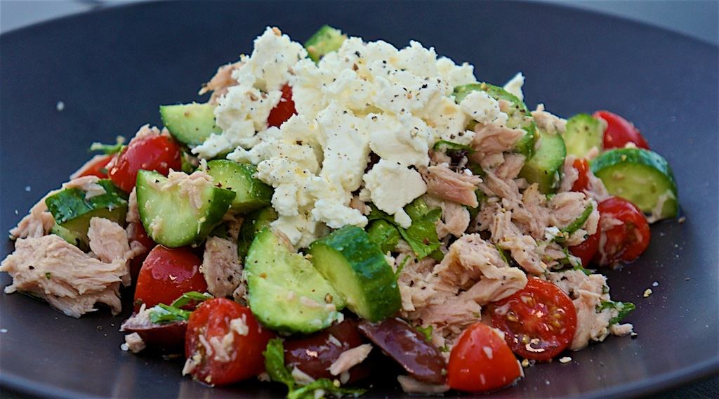 Jul 21: Thai Tuna & Cress, Silverside & Spicy Labné; Greek Style Tuna Salad