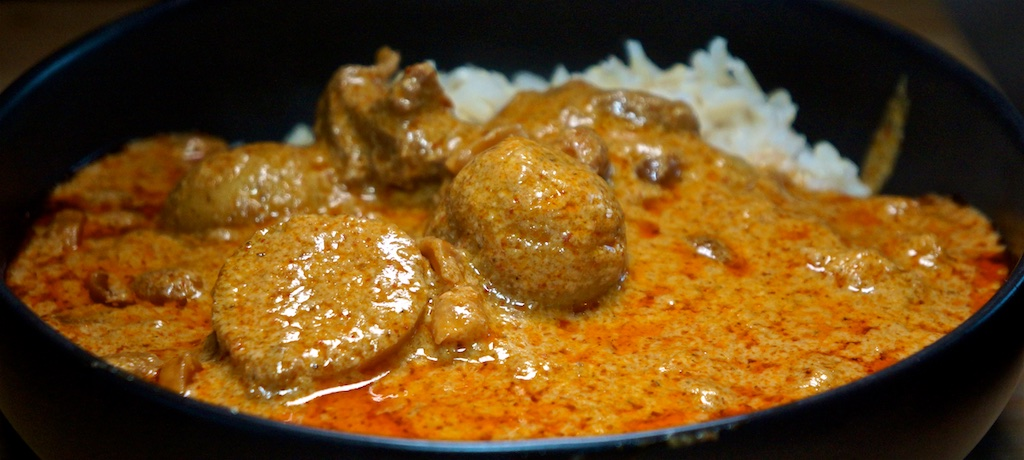 Aug 14: Double Double; Beef Massaman Curry