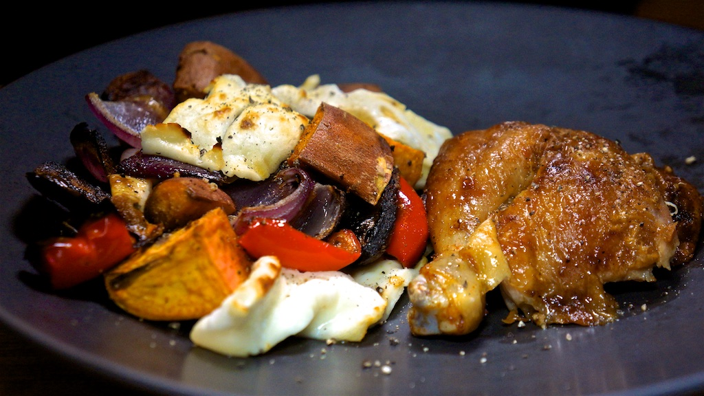 Oct 3: The Country Deli; Roast Chicken with Roast Vegetables