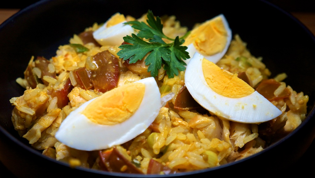 Jan 21: 'Quesadilla'; Kedgeree