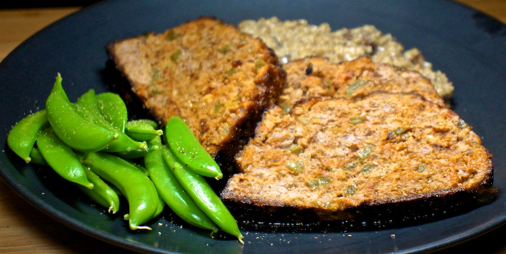 Jan 23: Lamb & Lentil with Hummus, Turkey Breast & Cheese; Spicy Meatloaf with Savory Oatmeal and Sugar Snap Peas
