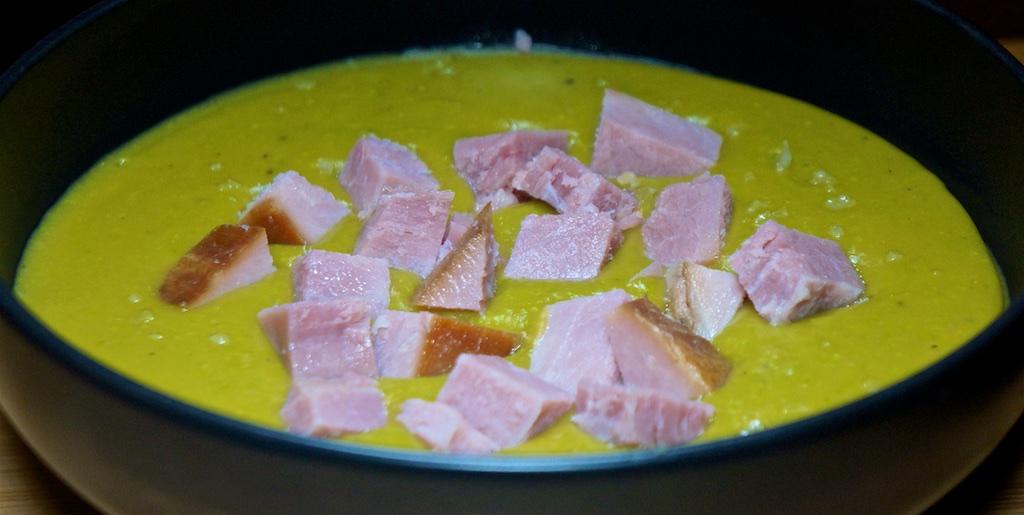 Feb 12: Ham, Brie & Watercress, Ham & Swiss; Split Pea Soup with Ham
