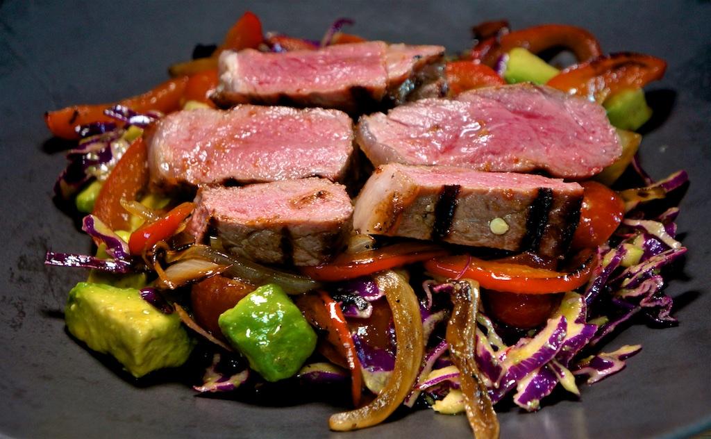 Jun 21: Top Sirloin Roll; Fajita Steak Salad