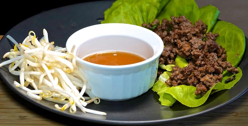 Aug 25: Bahn Mi; Beef Larb Lettuce Wraps