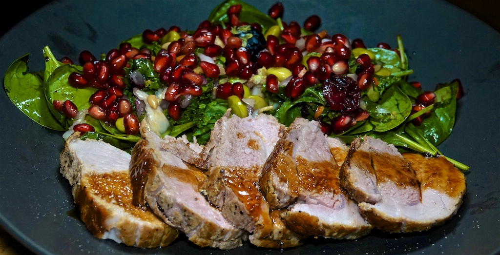 "Nov 13: The Country Deli; Roast Pork with ""Refrigerator Salad"""