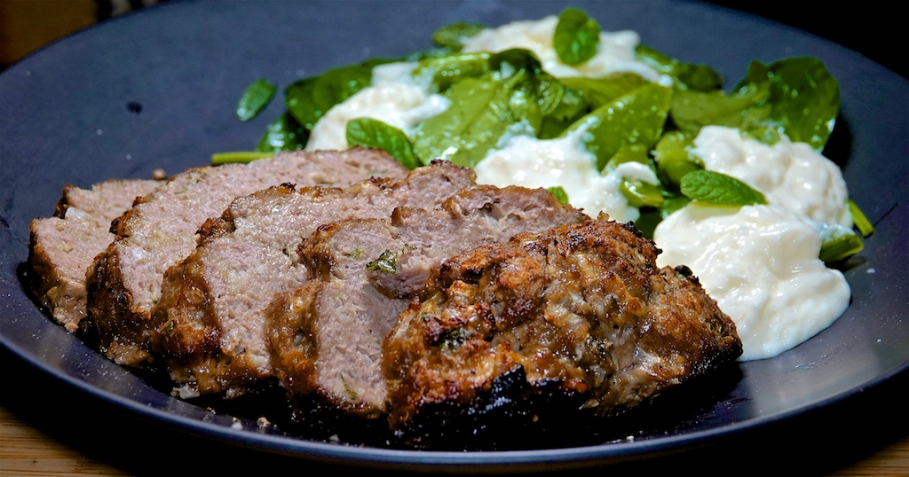 Nov 23: Chicken Breast & Swiss; Lamb Meatloaf; Snap Pea Salad with Burrata