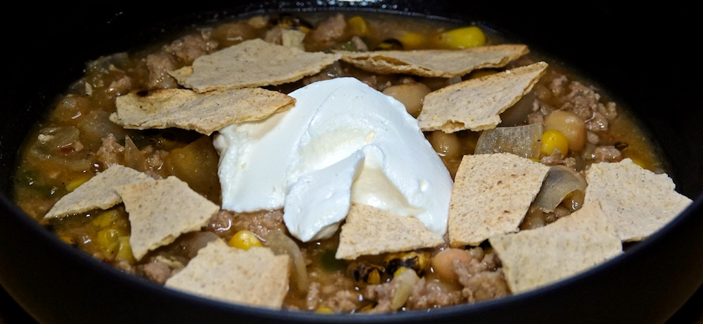 Feb 12: Breakfast; White (Pork) Chili