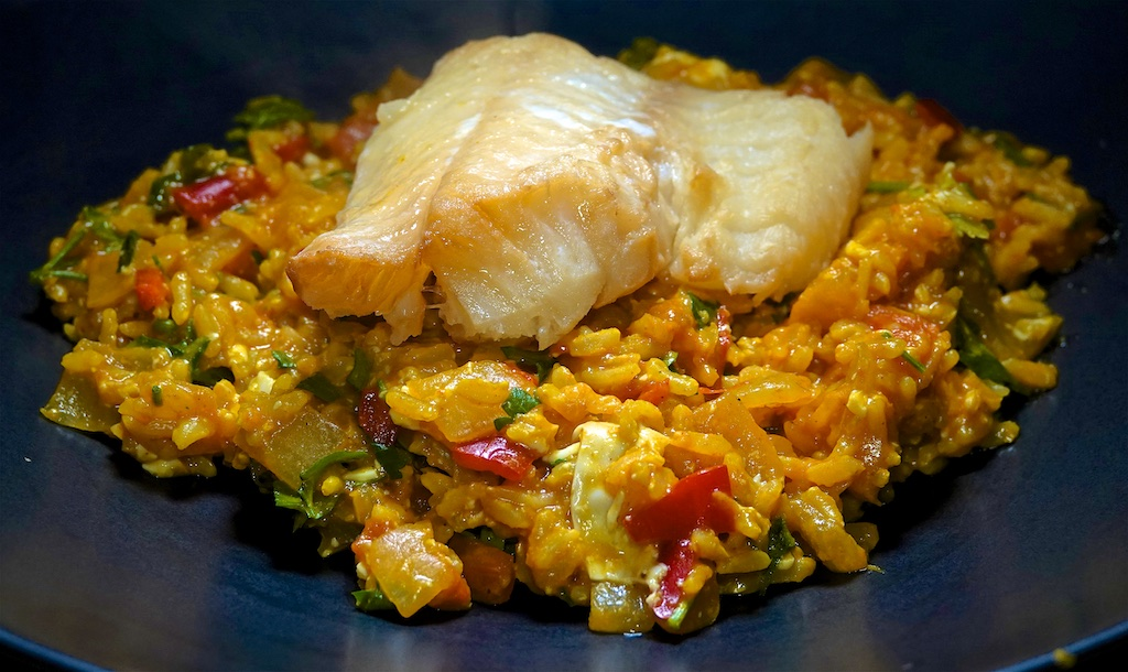 Feb 15: Meat Pies; Hot Smoked Cod with Brown Rice Kedgeree