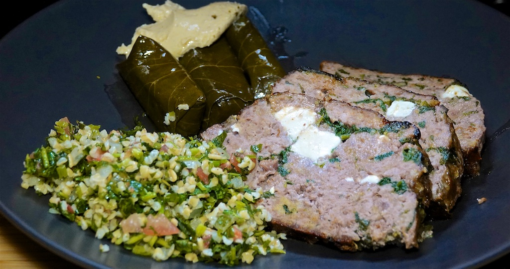 Feb 17: Turkey & Swiss, Lemon Pepper Tuna & Swiss; Greek Meatloaf with Spinach and Feta