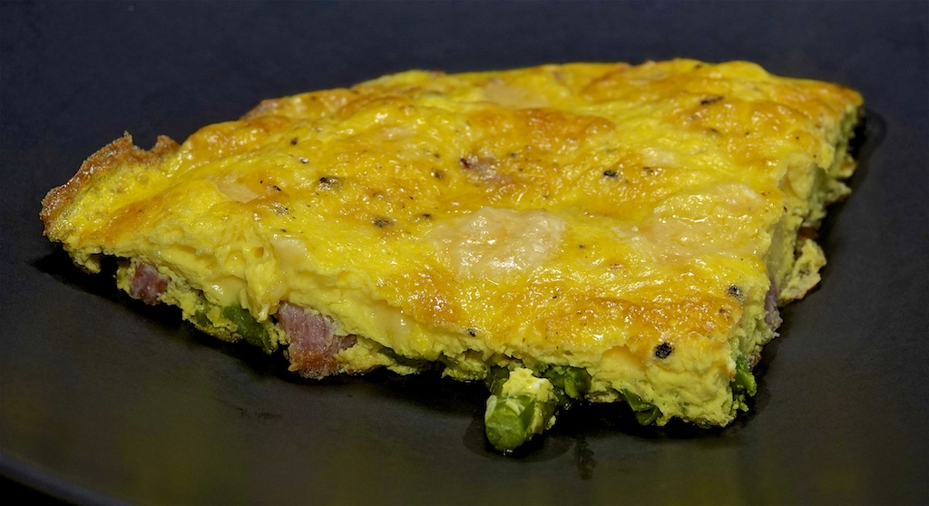 May 15: Egg Salad Panini Roll; Asparagus and Ham Frittata