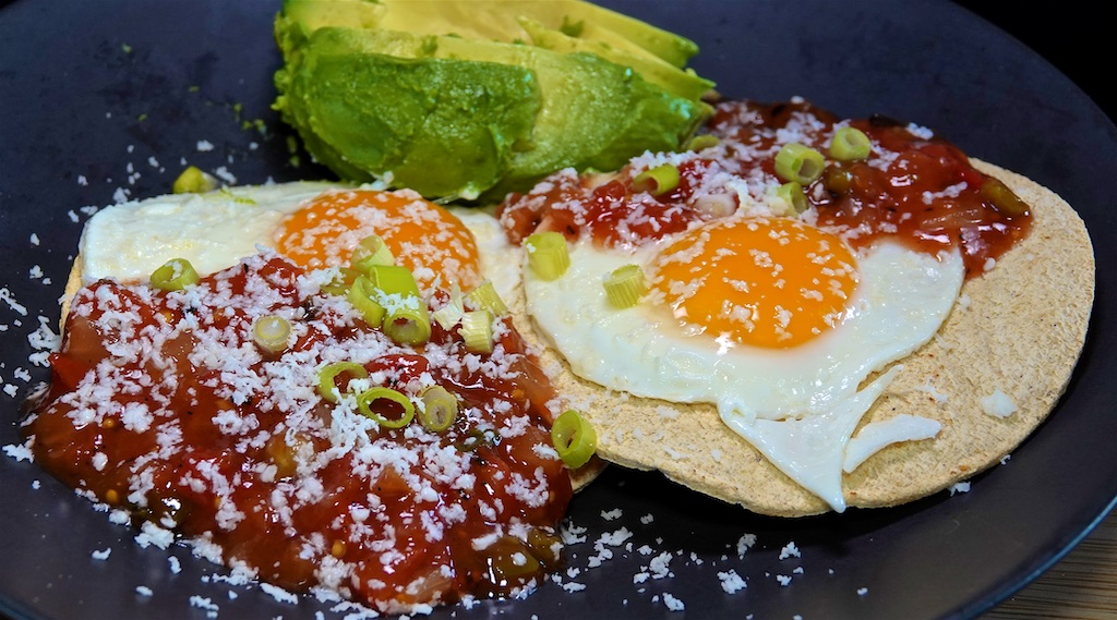 Jun 23: Bahn Mi; Fried Egg on Tostados with Avocado and Salsa