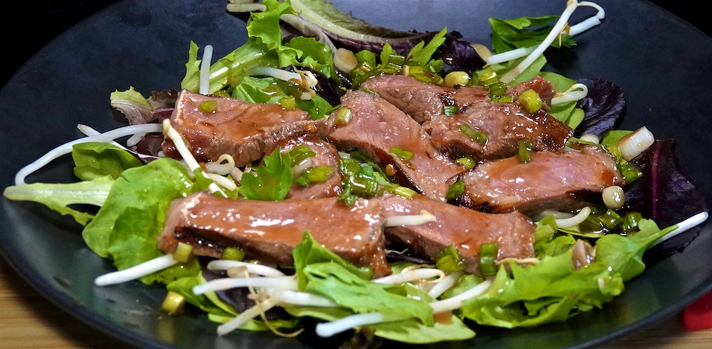 Jul 11: Avocado & Turkey; Hot and Sour Beef Salad