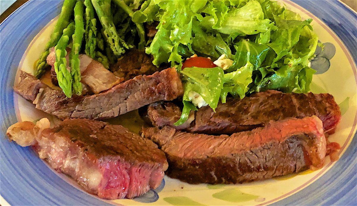 Aug 14: Avocado & Turkey, Kumato & Cheddar; Rib Eye with Feta Salad