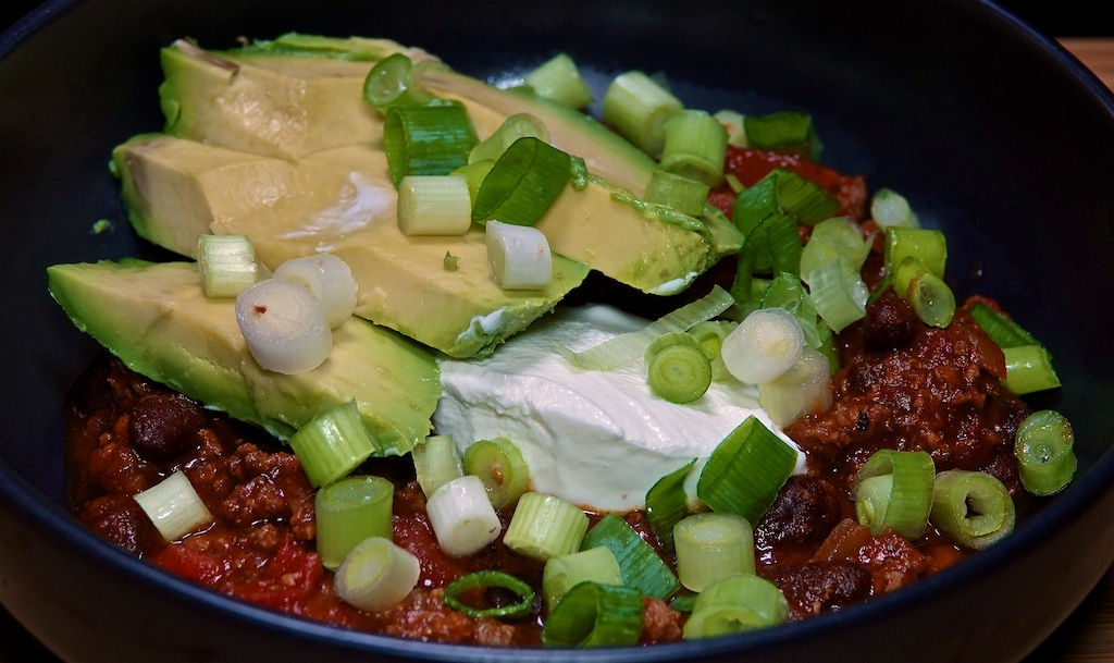 Dec 3: Cubano; Bacon & Black Bean Chili with Avocado & Labné