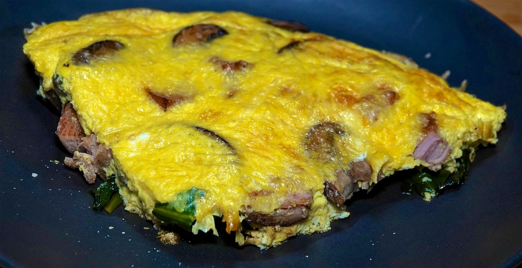 Jan 14: The Country Deli; Ham, Cheese and Mushroom Frittata