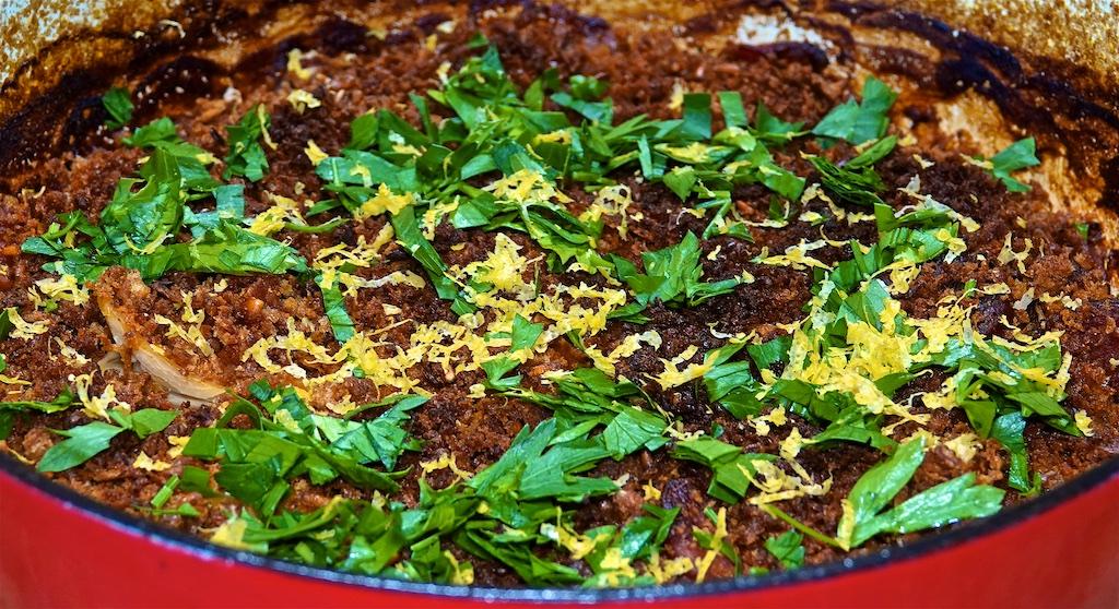 Jun 20: Avocado & Sardines; Chorizo and Gigante Bean Cassoulet