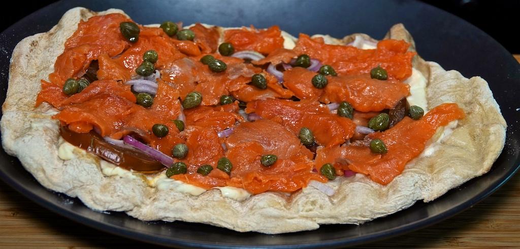 Jun 26: Avocado & Sardines; Smoked Salmon Pizza