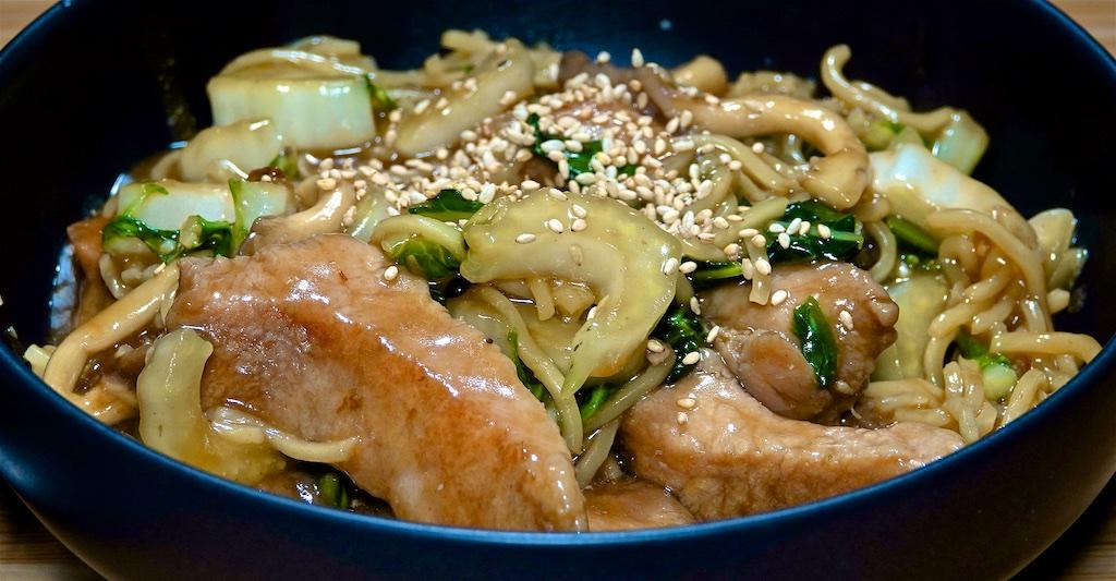 Sep 26: Kebab Pita; Pork and Bok Choy Stir-fry with Yakisoba