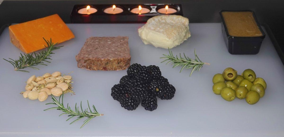 "Dec 25: Red Wine & Mushroom Meatloaf, Christmas Gnocchi & Roast Garlic Alfredo Sauce; ""Grazing"" Dinner"