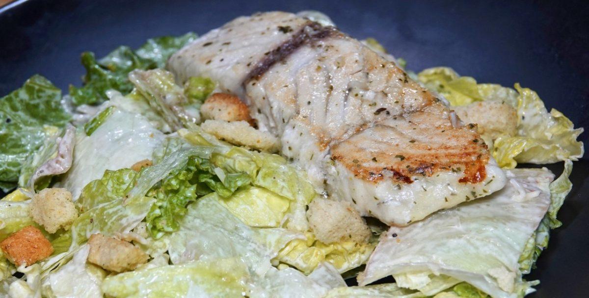 Dec 26: Grazing Redux; Barramundi and Caesar Salad
