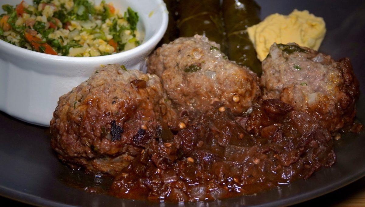 Jan 13: Snacks; Soutzoukakia with Dolma, Hummus and Tabouli