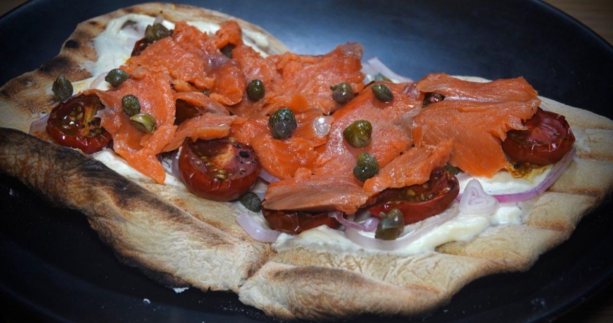Jan 15: Southwest Chopped Salad; Smoked Salmon Pizza