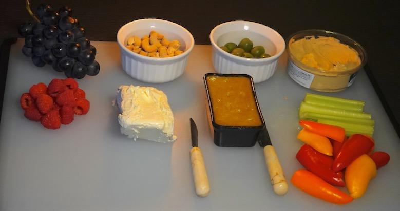 Feb 23: Chorizo, Fire Roasted Peppers & Smokey Cheddar; Grazing Dinner