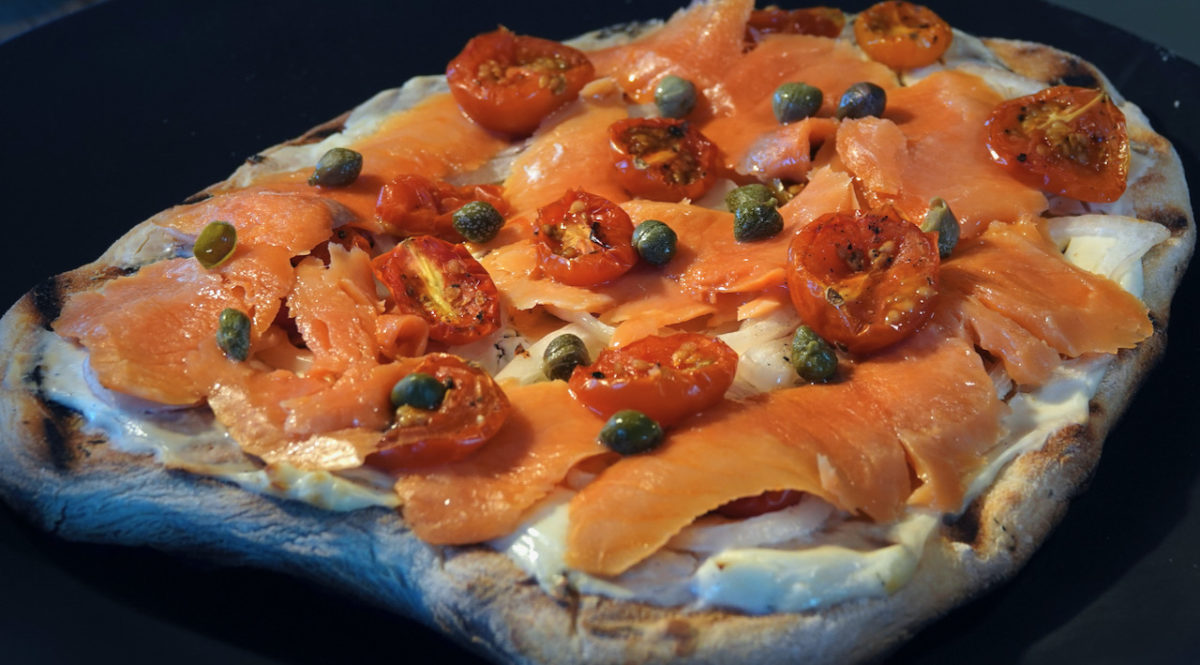 May 7: Ploughman's Lunch; Smoked Salmon Pizza
