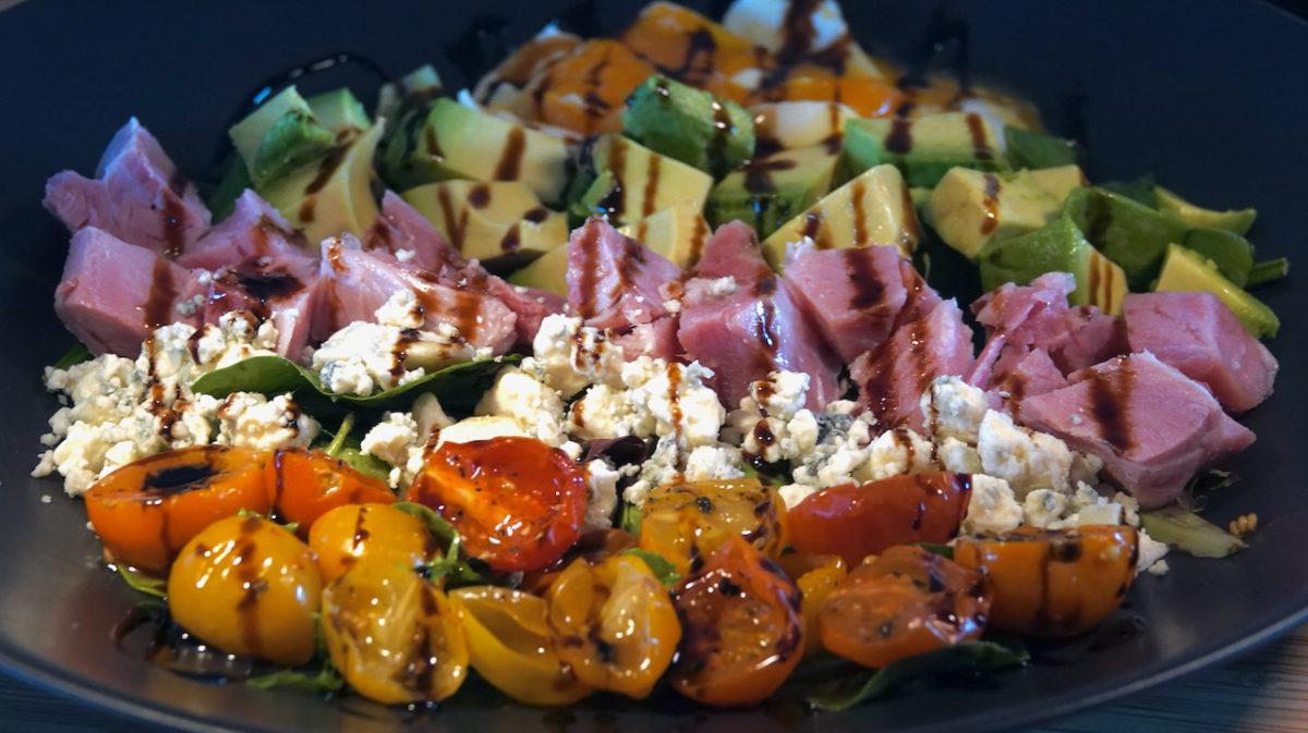 """May 12: Smokey Tuna & Capers, Ham, Smokey Cheddar & Ketchup; Ham """"Cobb"""" Salad"""