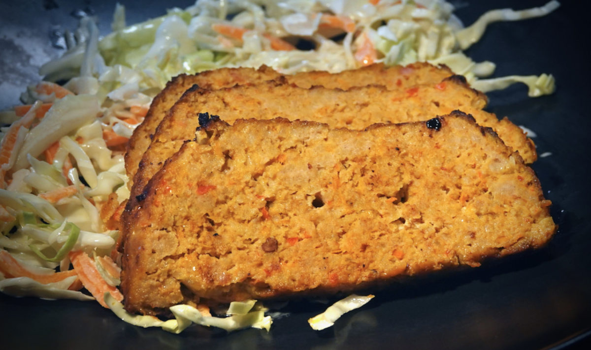 May 22: Nashville Hot Chicken Sandwich; Chipotle Turkey Bacon Meatloaf with Coleslaw and 13 Beans