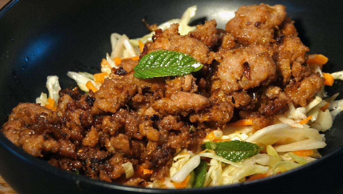 Jun 28: Ploughman's Lunch; Caramelized Pork Bowl