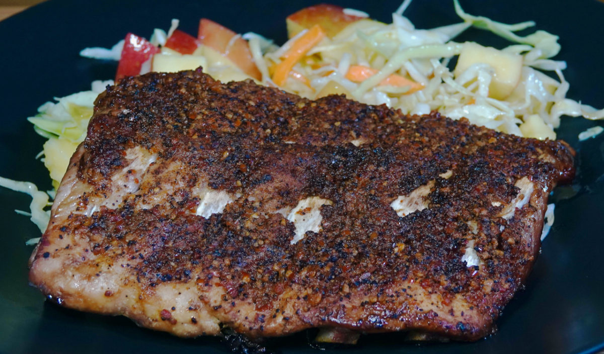 Aug 25: Baby Back Ribs with Apple Coleslaw