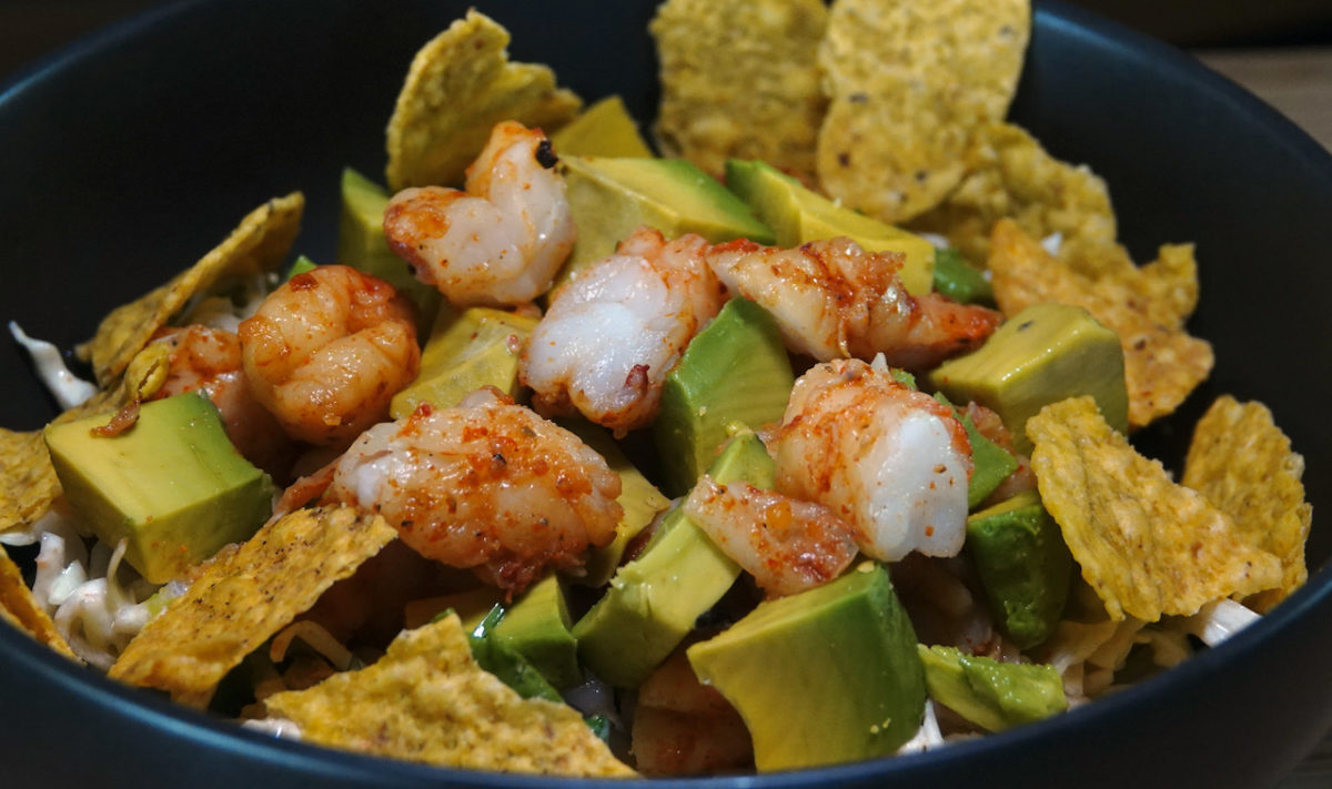 Aug 29: Shrimp Taco Salad